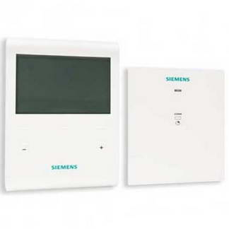 SIEMENS Thermostat d'ambiance programmable sans fil + 1 récepteur