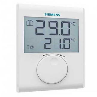 SIEMENS Thermostat d'ambiance digital non programmable - RDH100