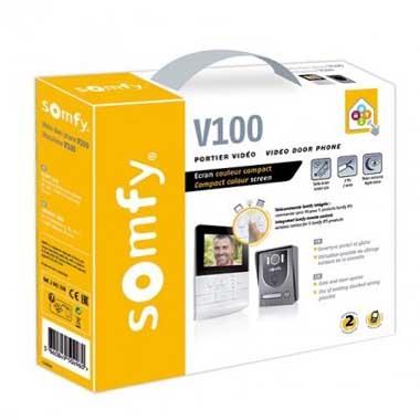 SOMFY Visiophone couleur V100 RTS - 2401330