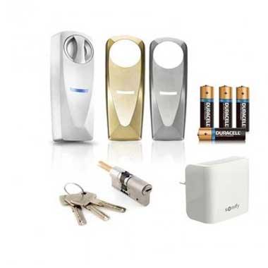SOMFY Pack serrure connectée et passerelle Internet - 2401457
