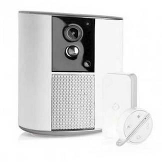 SOMFY One+ Alarme tout-en-un avec caméra HD, batterie de secours et 2 accessoires - 2401493
