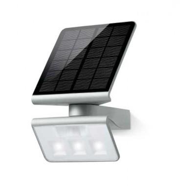 STEINEL Luminaire solaire LED Xsolar GL-S à détection 1,2W 150lm 4000°K argent - 671013