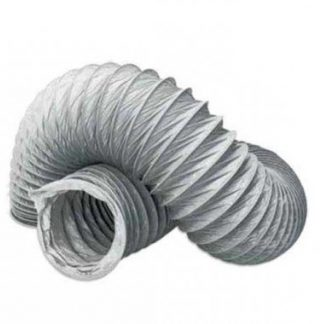 Gaine VMC souple en PVC L6m D125mm - 60012506