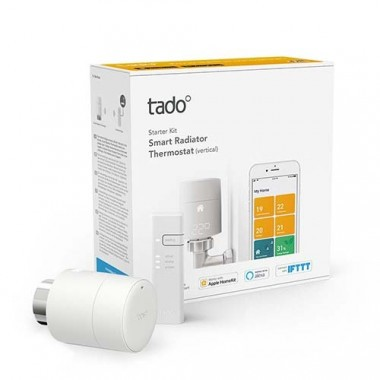 TADO Vanne thermostatique connectée et intelligente - kit de démarrage V3+