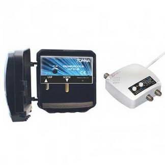 TONNA Kit préamplificateur de mât 4G avec alimentation commutable 20dB - 360253