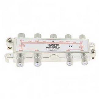 TONNA Répartiteur 8 sorties à connecteurs F - 365080