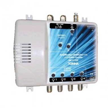 TONNA Amplificateur coupleur 2 entrées 4 sorties - 411124