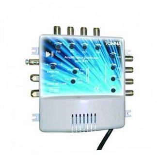 TONNA Amplificateur coupleur 2 entrées 8 sorties - 411128