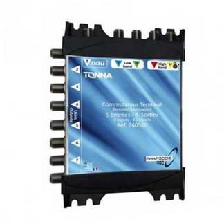TONNA Commutateur matriciel 1 entrée SAT + 8 sorties TV - 740580