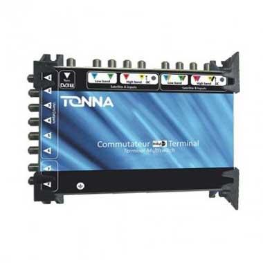 TONNA Commutateur 2 satellites + TNT 8 sorties TV - 744980