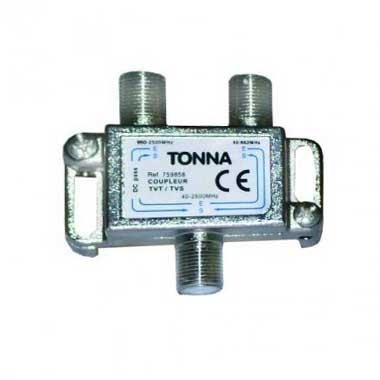 TONNA Coupleur TVT/TVS 2 entrées 1 sortie - 759858