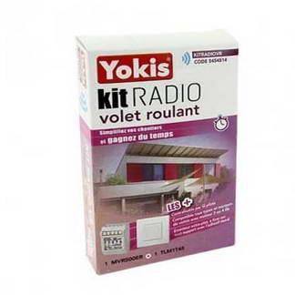 YOKIS Kit radio volet roulant 1 micro-module volet roulant et 1 télécommande - KITRADIOVR